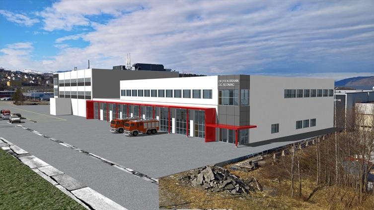 Nye Narvik brannstasjon - Prosjektledelse