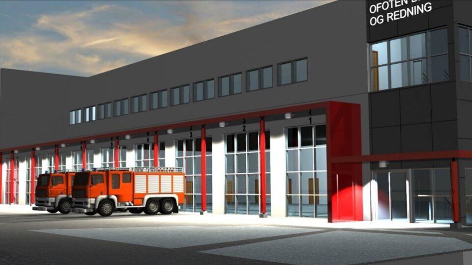 Narvik brannstasjon prosjektleder byggherreombud